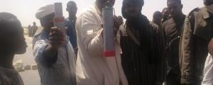 احتجاج حمالة ميناء نواكشوط