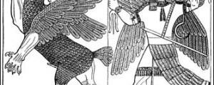 الصراع بين الإله مردوخ و الإلهة تيامات