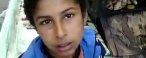 الطفل عمر صلاح بائع البطاطا الذي توفي برصاصة بميدان التحرير