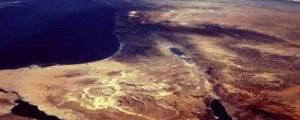 صورة لسيناء بالقمر الصناعي