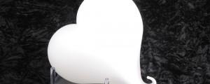 قلب أبيض