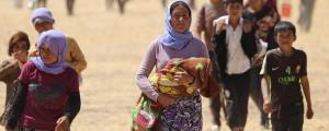 إجلاء آلاف الإيزيديين المحاصرين من جبل سنجار