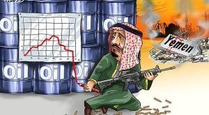 إنهيار أثمان البترول