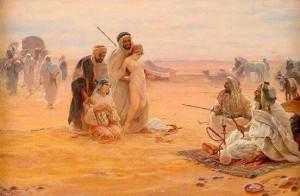 عادة السبي متأصلة عند القبائل العربية