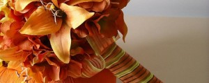 Fall_Autumn_Orange_Tiger_Lily_Hydrangea_Silk_Flower_Wedding_Bouquet