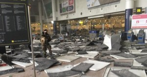 تفجير مطار بروكسيل