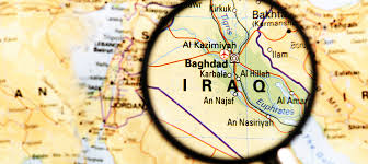 Iraq zoomed in