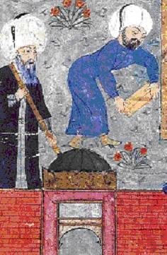 Sinan_preparing_Kanuni_grave