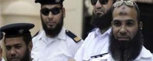 رجال شرطة مصريون بلحى