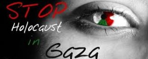 stop holocaust in gaza